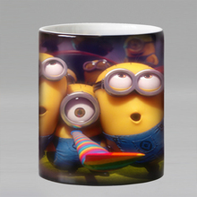 New Fashion Tea Coffee Mug Magic Mugs Cup Change Color cartoon Heat Reveal Ceramic Mug BEST GIFT for kids(China)