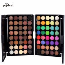 Buy Popfeel Brand 40 Colors Eye Shadow Palette Eyes Makeup Matte & Shimmer Eyeshadow Pallete Women Make Cosmetics Glitter Shadows Co., Ltd. Store) for $4.34 in AliExpress store