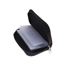 Non-toxic Memory Card Storage Carrying Case Holder Wallet for CF/SD/SDHC/MS/DS MicroSD Game Card Brand new(China)