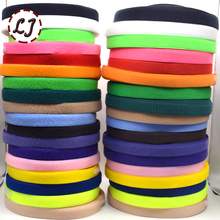 Hot sale brand 25mm 2yd/lot colorful HOOk&LOOP sew on colorful Fastener Tape ribbon for home garment bag shoes accessories DIY(China)