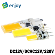 LED G4 G9 Lamp Bulb AC/DC 12V 220V 6W 9W COB SMD LED Lighting Lights replace Halogen Spotlight Chandelier