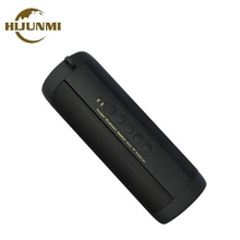 Portable Bluetooth Speaker Wireless Bicycle Column Waterproof For Computer Notebook Radio FM TF AUX LED Shower Vibrator Speakers(China)