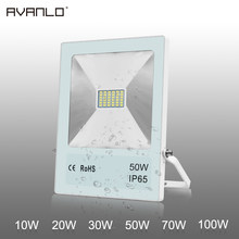 projector ip65 leds waterproof led the reflector of outerdoor light to floodlight 10W 20W 30W 50W 70W 100W outdoor wall light(China)