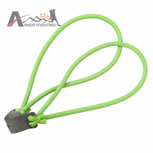 Natural Latex Red Slingshot Catapult Rubber Band Military Tactical Durable Elastic Bungee Tube For Outdoor Hunting Shooting(China)