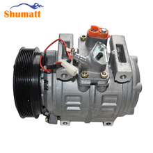 Original Reconditioned BUS Air-conditioning Compressor D-ENSO 10P30C With 7PK Clutch for T-oyota Coaster Minibus(China)