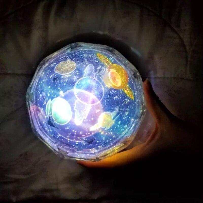 LED Star Master Night Lights Starry Sky Magic Planet Projector Lamp Cosmos Universe Luminaria Baby Nursery Holiday Birthday Gift (9)