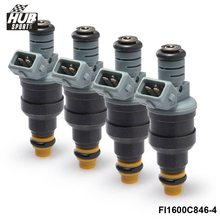 Hubsports -8PCS/LOT New High Performance Low Impedance 1600cc 160LB EV1 Fuel Injectors 0280150842 For Audi Chevy HU-FI1600C842-8