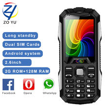 ZOYU D9800 Smart Phone 3800 power bank 2G dual sim dual standby mobile phone MP3 Playback Flashlight cell phone