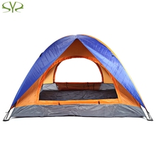 practical comfortable Water Resistant Camping enough for 3 - 4 people Tent Tabernacle Sleeping Equipment For Outdoor Exercise