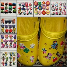 12-13PCS Hello Kitty Tinker Bell Avengers Star Wars PVC Shoe Charms,Shoes Accessories Fit Bands Bracelets Croc JIBZ Kids Gift