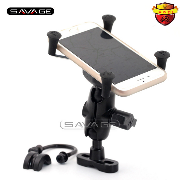 For BMW R1150GS R1150R R1200GS R1200R R1100/R1200 GS/R Motorcycle Accessories GPS Navigation Frame Mobile Phone Mount Bracket<br>