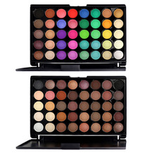 Long Lasting Earth Color 40 Color Make Up Cosmetics Fashion Eyeshadow Palette Brighten Eye Shadow Palette