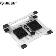 ORICO NA15 Cooling Fan 15.6 inch Notebook Computer Radiator Bracket Plate Aluminum for Apple Notebook Cooling Pad(China)