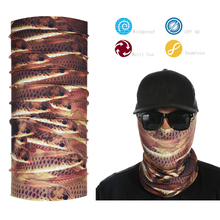 Headwear Scarf Fishing Bandana Mask Neck Tube Sun UV Protection