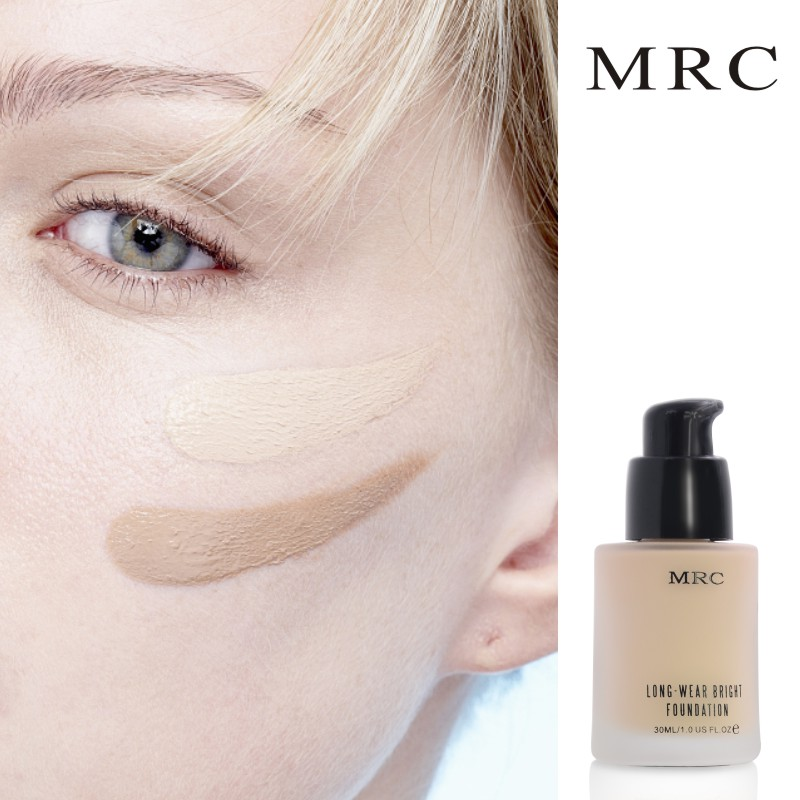 MRC Face Makeup Base Long Lasting Liquid Foundation with Concealer Whitening Moisturizer Oil-Control Waterproof Functions (2)