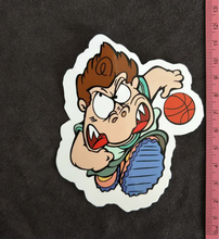 The little boy playing basketball PVC cartoon stickers car stickers guitar bicycle refrigerator Buy 3 Free 1
