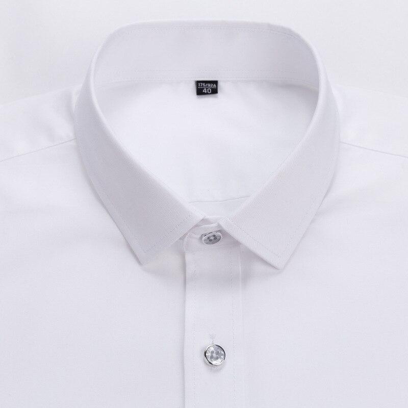2019 Fashion Long Sleeve Male Shirts Button Collar Business High Quality Shirts Men