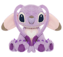 Lilo and Stitch Plush Toy Purple Angel Figure Doll Large 40cm 16'' Stitch Girl Friend Cute Soft Toys for Children Kids Gifts(China)