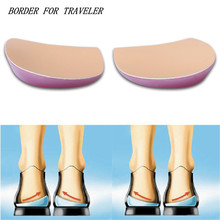 O-Leg Orthopedic Heel Insoles Correct O-leg X-leg Splay Foot Men/Women Orthotics Shoes Pad Create Beauty Leg Feet Care(China)