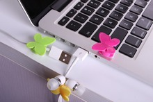 1 dollar china supplier Plastic adhesive tape butterfly cable holder cell phone accessories