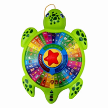 Just Sell Here! High Quality Russian Musical Turtle, Pull Line Turtle, With Music&Light, Educational Toys, Best Gift To Children(China)