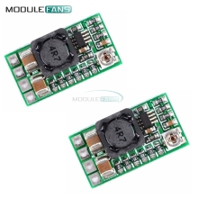 2Pcs Mini DC-DC 12-24V To 5V 3A Step Down Power Supply Module Voltage Buck Converter Adjustable 97.5% 1.8V 2.5V 3.3V 5V 9V 12V(China)