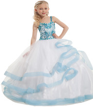 Factory Wholesale Pageant Ball Gowns For Cheap Flower Girl Dress Plus Size Kids Evening Dress Low Price