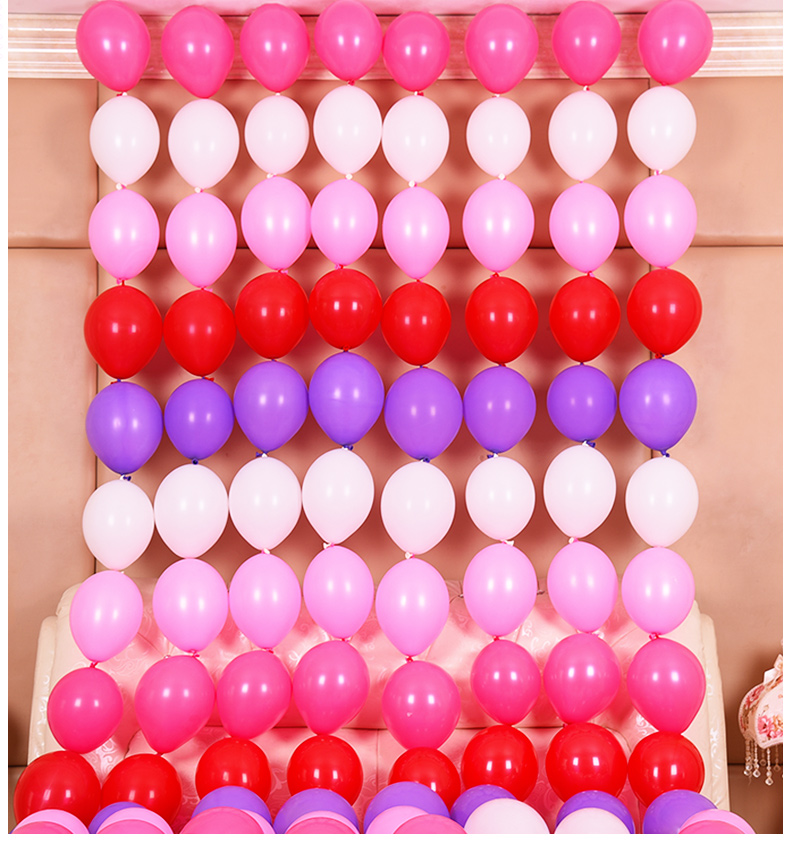 6 inch balloons [ 100 Piece Lot ] 2