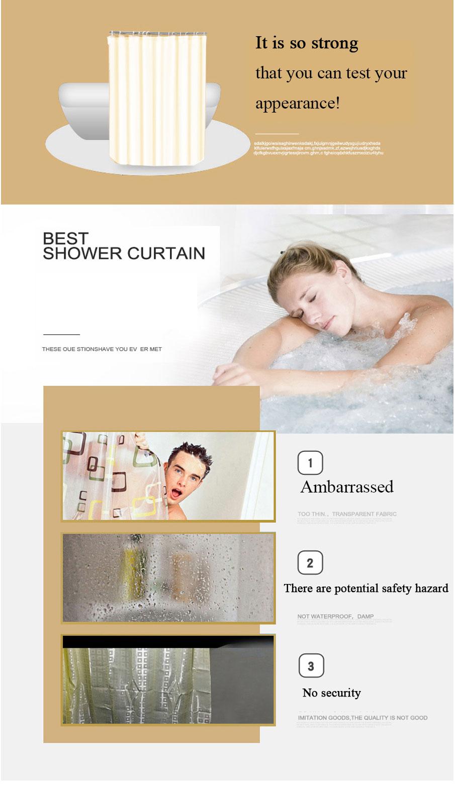 Plaid Shower Curtain  _04
