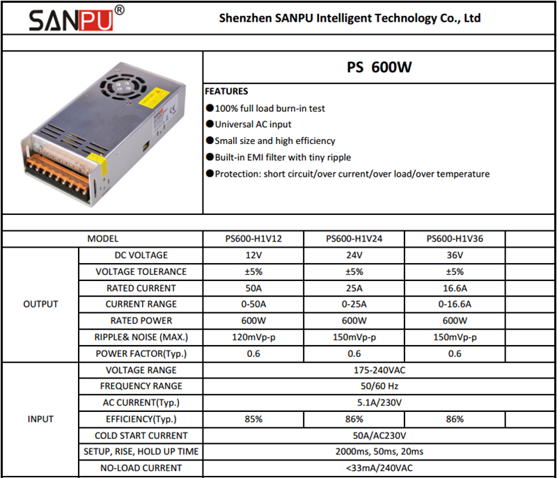 PS600-1