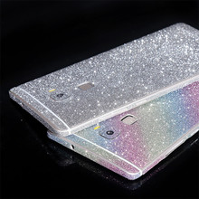 Luxurious Bling Diamond Full Body  Glitter Back Sticker Protector Cover Case For Huawei G7 Plus/ Honor 7/ Honor 6/ Honor 6Plus