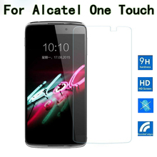 Tempered Glass For Alcatel One Touch Idol 3 4.7 5.5 Pixi 3 4 3.5 4 4.0 4.5 5 5.0 5.5 Pop 2 3 4 4S 4+ Plus C3 C7 Screen Film Case