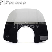 High Quality Motorcycle Moto Windshield Windscreen Motorbike Wind Deflector for Vespa Primavera 150 Flyscreen