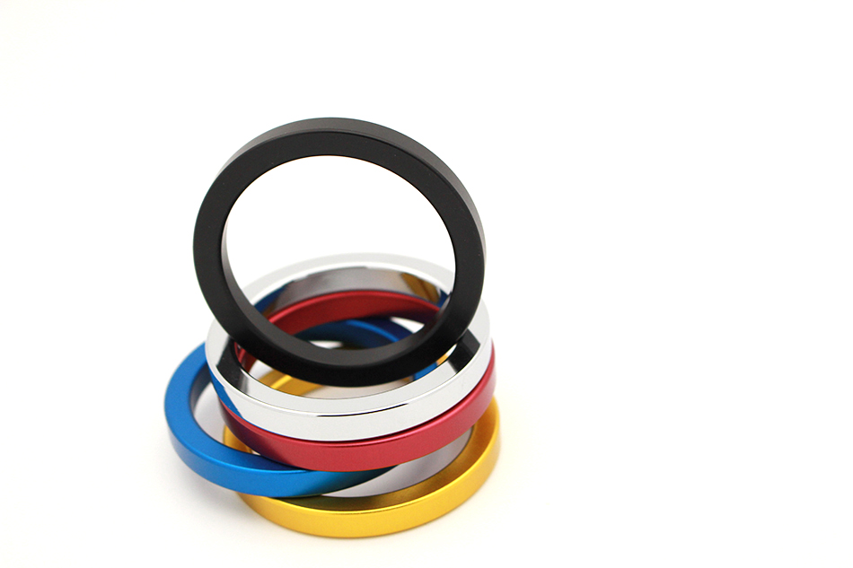 QRTA multiple Colour Space aluminum Penis Rings Cock Ring Adult Products Delay Male Masturbation Health Fun Happy Sex Toys 17