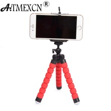 Mini Tripod Digital Camera Mobile Phone Stand Flexible Grip Octopus Monopod Flexible for Gopro Hero for Octopus Digital Camera(China)