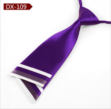 Purple Neck Tie For Women Fashion Ties for Gravata Professional Uniform Neckties Female College Student Bank Hotel Staff Tie 5
