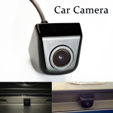 Mini Waterproof Car Parking Assistance Reversing Back Rear View Camera HD CCD Wire Car Rear View Camera free shipping