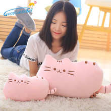 20CM Kawaii Pusheen Cat Pillow Plush Toys Stuffed Animal Doll Cute Cushion Gifts Toy For Kid Children 2017(China)