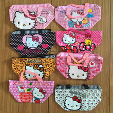 Choose one zipper RANDOM Stylish Hello kitty Betty Minnie Elmo Friends Princesses Melody Care Bears Jack PVC bag tote hand toy