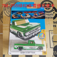 New Arrivals 2017 Hot Wheels 1:64 CUSTOM 62 CHEVY PICKUP Metal Diecast Cars Collection Kids Toys Vehicle For Children(China)