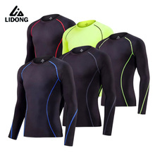 Kids Running Tights Cycling Sports wearing Long Sleeve boy Basketball Jerseys Compression Base layer Shirts Breathable Quick-Dry(China)