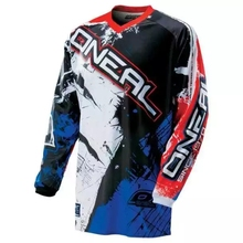 2017 New Polyester Men Motorcycle Motocross Racing DH Downhill MX MTB Free T shirt Jersey Jerseys Cycling Wear Clearance Sale