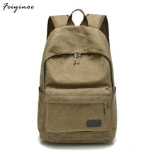 Men bag canvas bag casual shoulder bag Messenger bag Korean version of schoolbags