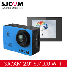 Original SJCAM SJ4000 WiFi Action Camera 2.0 inch Sports DV LCD Screen 1080P HD Diving 30M Waterproof Mini Car DVR Camcorder(China)