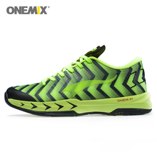 Cheap Basketball Shoes Men Tennis Sport Trainers For Man's Athletic Sneaker Damping 5 Colors Zapatos De Baloncesto Onemix(China)