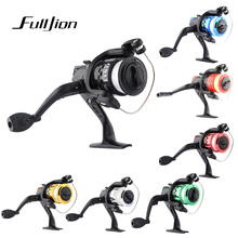 1pcs Fishing Reels With Fishing Line Bait Casting Reel Aluminum Body Spinning Fishing Reel High Speed G-Ratio 5.2:1 Multi-Color