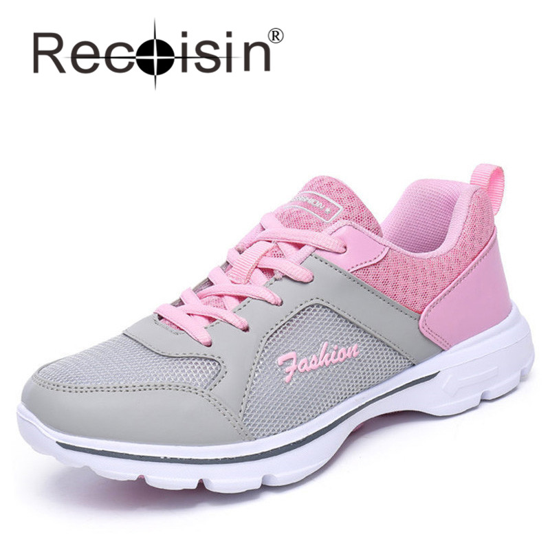 RECOISIN 2016 Autumn New Women Shoes College Style Campus Fashion Shoes Female Breathable Walking Shoes Deportivas Mujer 1609<br><br>Aliexpress