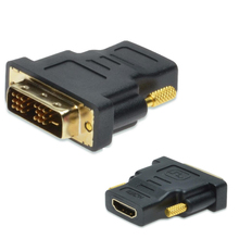 DVI to hdmi adapter converter DVI 18+1 male to HDMI female gold-plated&high quality