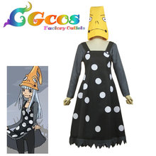 CGCOS Free Shipping Cosplay Costume Soul Eater Frog Witch New in Stock Halloween Christmas Party