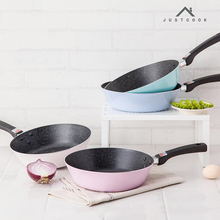 Life83 28 CM Wok Frying Pans Non-Stick No-smoke Kitchen Cooking Tools General Use for Gas and Induction Cooker(China)